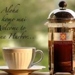 Готовим кофе в кофейнике