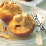 Рецепт приготовления нектаринов с начинкой из кофе и сливочного сыра