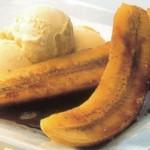 Рецепт приготовления бананов фламбе с карибским кофейным сиропом