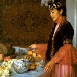 Казахский рецепт чая со сливками