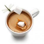 Колониальный кофе с коньяком
