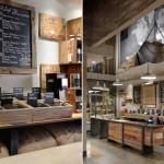 Новый стиль оформления кофеен Starbucks