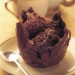 Кофейный мусс в шоколадных формочках