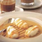 Кофейный десерт «Плавающие острова»