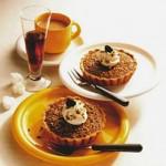 Кофейно-миндальные пирожные