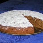 Пирог кофейный постный