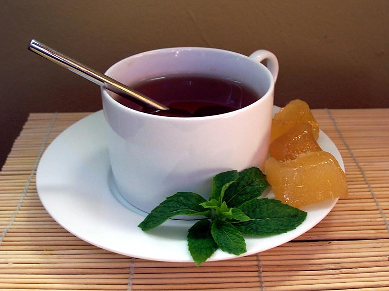 При диете можно пить сладкий чай