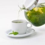 Жарко? Поможет зеленый чай