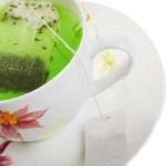 Зеленый чай защищает кожу!