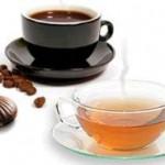 Чай, кофе и шоколад