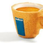 Съедобная чашка от Lavazza